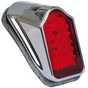 Led tail light Tombstone mini chrome