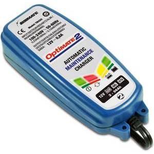 Caricabatterie Tecmate Optimate2 TM420 12V-0.8Ah singolo