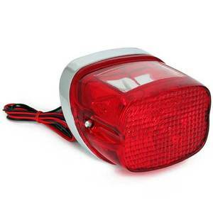 Halogen tail light Late Style chrome