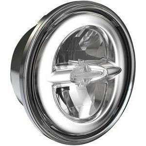 Kit faro anteriore per Harley-Davidson Touring -'13 Drag Specialties full led cromo