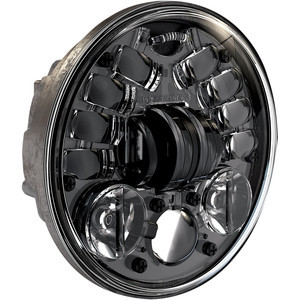 Inserto faro anteriore per Triumph Speed Triple 955 i.e. J.W. Speaker 8690 full led nero