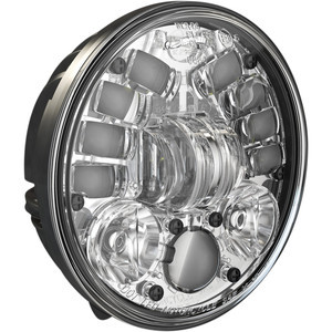 Full led headlight Harley-Davidson 5.3/4'' J.W. Speaker 8691 Adaptive2 low mounting chrome