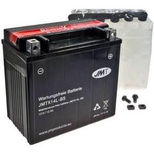 Batteria per Harley-Davidson Street JMT YTX14L-BS 12V-12Ah