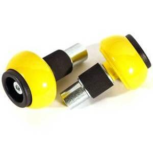Coppia contrappesi antivibranti LSL sferici 14mm giallo