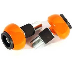 Coppia contrappesi antivibranti LSL sferici 14mm arancione