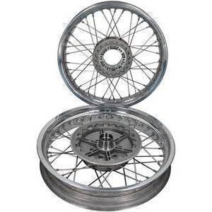 Complete spoke wheel kit Moto Guzzi Serie Grossa 17''x3.50 - 17''x4.25