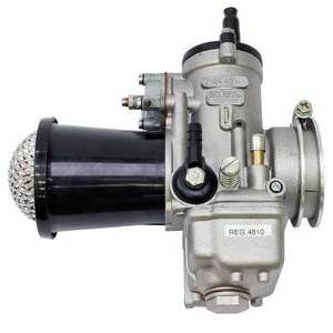 Carburatore Dell'Orto PHM 40 AD 4T con cornetto di aspirazione con rete
