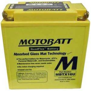 Battery Moto Guzzi 1100 Breva i.e. sealed Motobatt 12V-19Ah