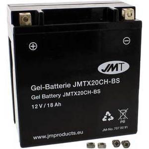 Batteria di accensione JMT YTX20CH-BS 12V-18Ah