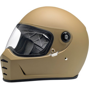 Casco moto integrale Biltwell Lane Splitter marrone