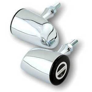 Led winkers Highsider Rocket Classic chrome smoked pair