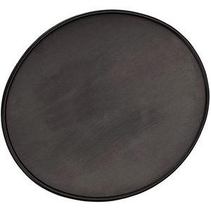 Tabella portanumero ovale piana nero
