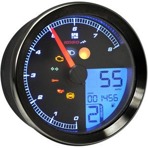 Electronic multifunction gauge Koso TNT-04 black