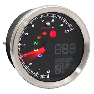 Electronic multifunction gauge Koso TNT-04 grey