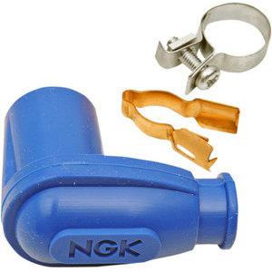 Cappuccio candela NGK LBER 90° 14mm blu