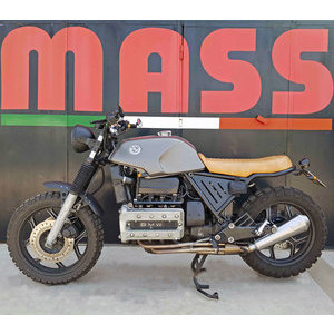 Finale di scarico per BMW K 100 Mass Cafe Racer kit 4 in 1 inox