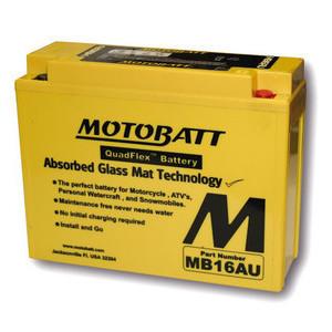 Batteria per Yamaha XV 750 Virago sigillata MotoBatt 12V-20.5Ah