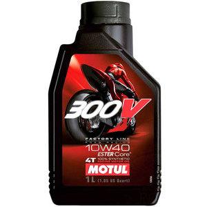 Olio motore 4T Motul 10W-40 300V Road Racing 1lt