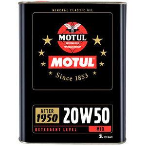 Olio motore 4T Motul 20W-50 Classic 2lt