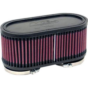 Kit filtri aria per Suzuki GS 500 E '89- K&N doppio corpo