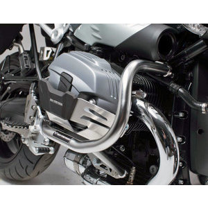 Crash bar BMW R 9T SW-Motech cylinder headguard grey