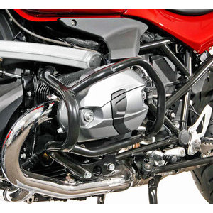Crash bar BMW R 1200 R SW-Motech cylinder headguard black