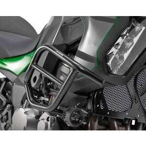 Paramotore per Kawasaki KLZ 1000 Versys '19 SW-Motech nero