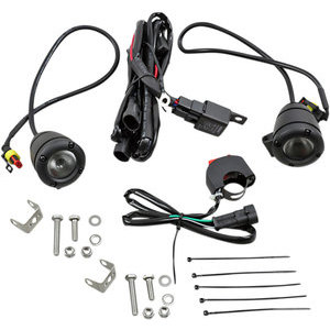 Additionial led headlight kit Brite-Lites Compact Bullet black