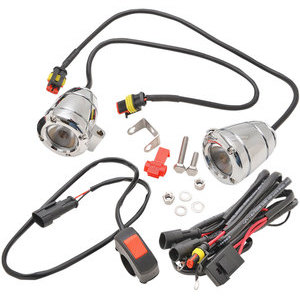 Additionial led headlight kit Brite-Lites Compact Bullet chrome