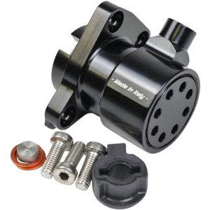 Attuatore frizione per Ducati 30mm anodizzato nero