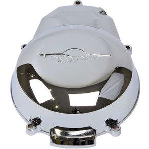 Cover carter accensione per Moto Guzzi Serie Piccola alluminio con stemma