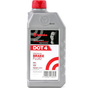 Brake & clutch fluid Brembo DOT 4 0.5lt
