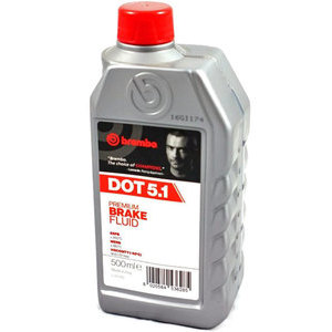 Brake & clutch fluid Brembo DOT 5.1 0.5lt