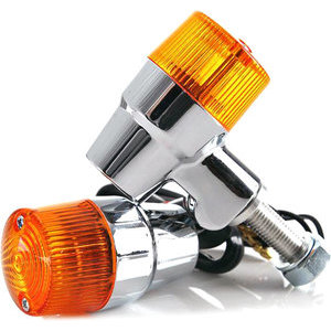 Halogen winkers K&S Retro position light combo chrome pair