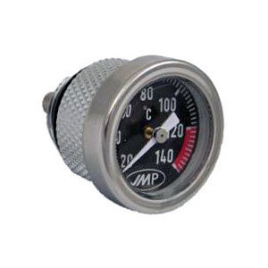 Engine oil thermometer M20x1.5 21mm dial black