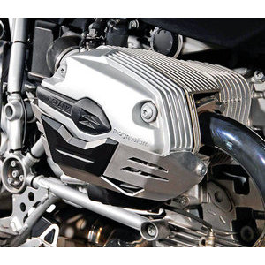 Crash bar BMW R 1200 R -'10 SW-Motech cylinder head cover black