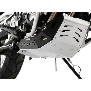 Crash bar BMW F 800 GS oil sump grey/black