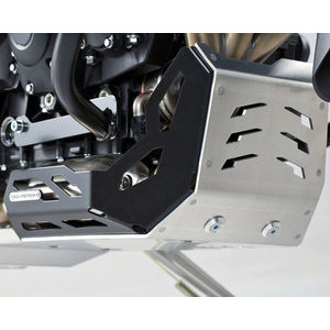 Paramotore per Triumph Tiger 800 coppa olio grigio/nero