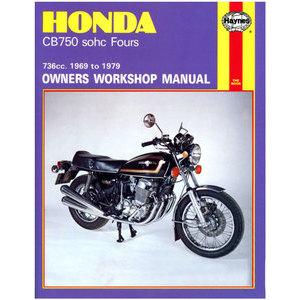 Manuale di officina per Honda CB 750 Four