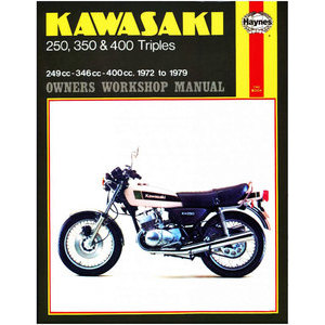 Manuale di officina per Kawasaki 250-400cc '72-'79