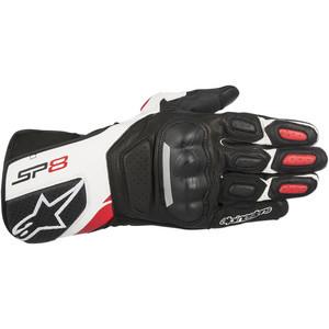 Guanti moto Alpinestar SP-8 Performance nero/bianco/rosso