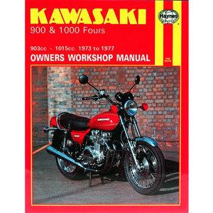 Manuale di officina per Kawasaki 900-1000cc '73-'77