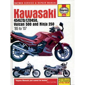 Manuale di officina per Kawasaki EN 450-500 '85-'07