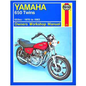 Manuale di officina per Yamaha 650 '70-'83