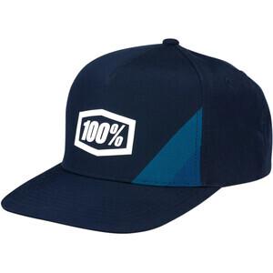 Cappellino 100% Cornerstone Trucker blu