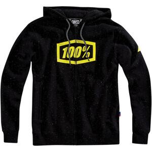 Felpa 100% Syndicate con cappuccio nero/giallo