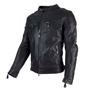 Giacca moto By City Street Cool nero