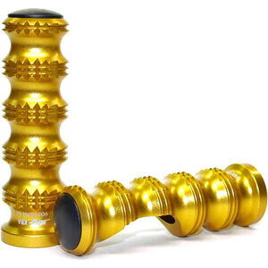 Footpeg MFW Master Grip pair gold
