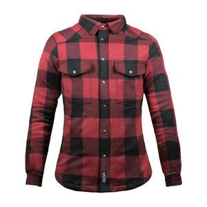 Camicia moto John Doe XTM rosso/nero