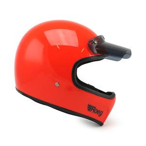 Casco moto integrale ROEG Peruna arancio aragosta